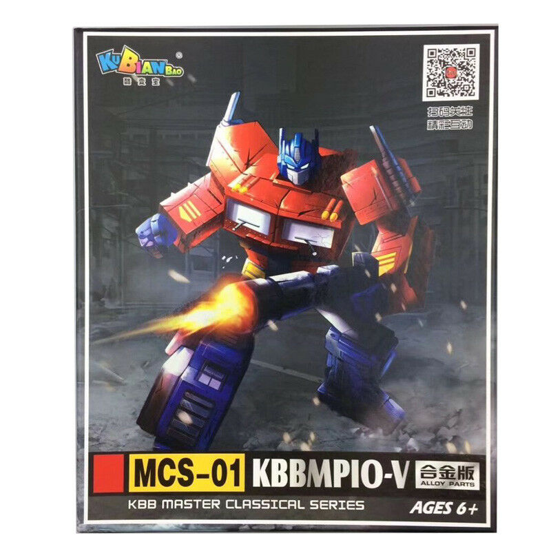 Mcs-01b transformer optimus prime kubianbao mp10v mp-10v roboter - action - figur