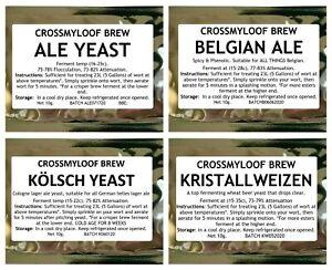 Home-Brew-Beer-Yeast-Ale-Yeast-Belgian-Pseudo-Lager-Kolsch-amp-Wheat-Beer