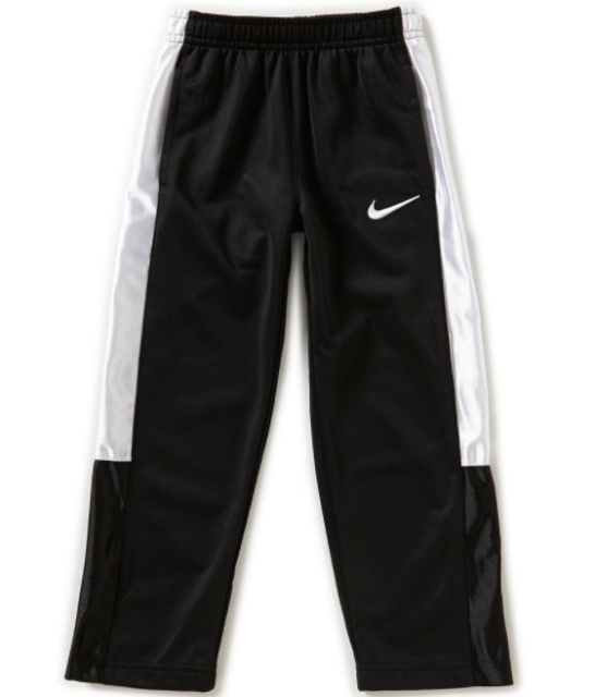 426f308db8 Nike Boys Tricot Athletic Warm up Pants Black 862110 Size 6 or 7 6