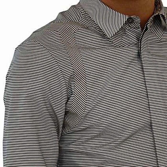Alexander McQueen Hemd Klettergurt Streifen, harness gestreift Hemd     | Zu einem niedrigeren Preis  fd2370