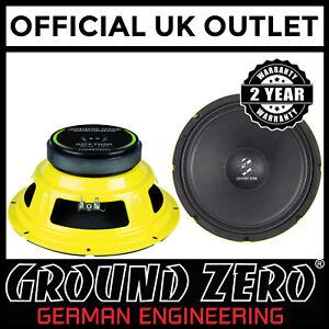 GroundZero-GZCK-250SPL-25cm-10-034-400-Watts-Kick-Midwoofer-Car-Van-Speaker-Single