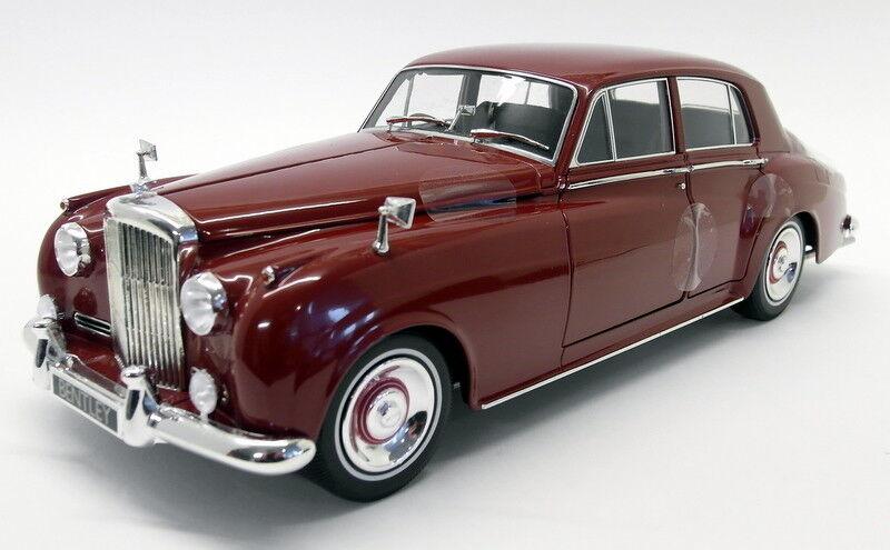 Minichamps 1 18 Diecast - 100 139955 Bentley S2 1960 rosso modelo de coche