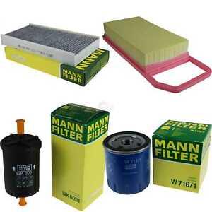 Mann-Filter-inspeccion-paquete-set-peugeot-407-SW-6e-Citroen-c6-TD