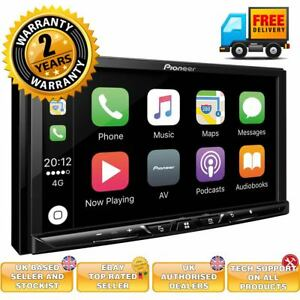pioneer sph da230dab 7 double din screen carplay android. Black Bedroom Furniture Sets. Home Design Ideas