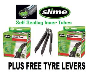 """Slime 20/"""" x 1.5-2.125/"""" Schrader Valve Self-Sealing tube"""
