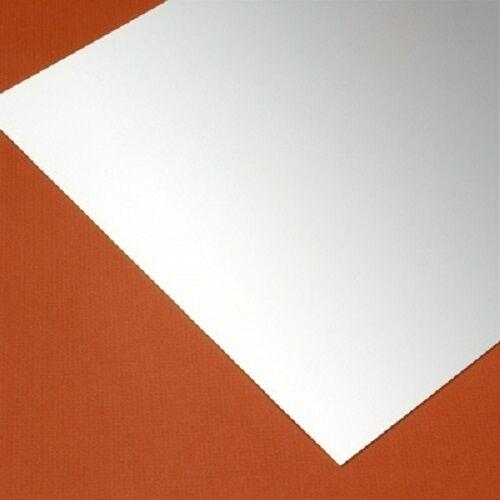 "WHITE STYRENE POLYSTYRENE PLASTIC SHEET .020/"" THICK 24/"" X 48/"" VACUUM FORMING"