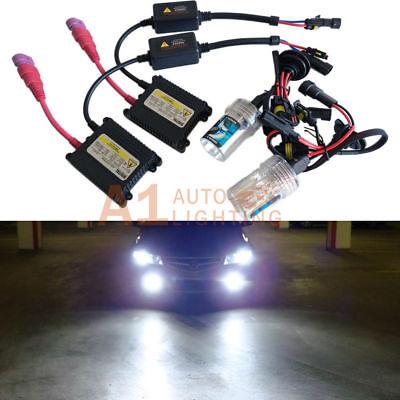 10K Dark Blue 2 Year Warranty HID-Warehouse 35W DC Xenon HID Lights with Premium Slim Ballast H11 10000K