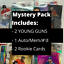 miniature 1 - MYSTERY NHL HOCKEY CARD PACKS! 5 HITS! 1 Auto/Patch/Numbered, 2 Young Guns, 2 RC