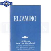 1982 El Camino Owners Manual Bound