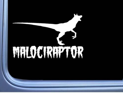Malociraptor M393 8 inch Sticker Belgian Malinois Decal schutzhund maligator