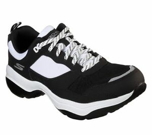 Skechers-Men-039-s-Casual-Walking-Shoes-GOwalk-Mantra-Ultra-Black-White-54796