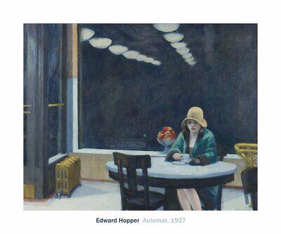 "NIGHT SHADOWS 1921 BY EDWARD HOPPER     ART PRINT POSTER 11/"" X 14/"" 2765"