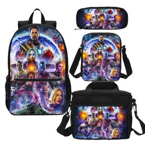 Details about Children's Marvel Avengers Amazing Team Backpack School Bag