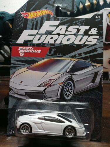 2020 Hot Wheels Fast And Furious 6 Lamborghini Gallardo LP 560-4  FREE SHIPPING