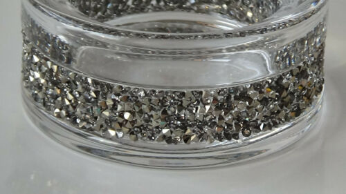 Swarovski Weihnachten Shimmer Teelichter Silber (NEU&OVP) Rarität