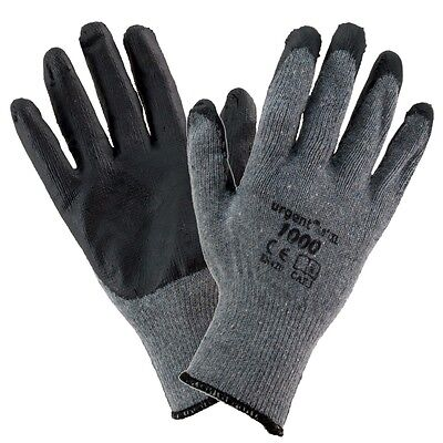 Montage Handschuhe 12 Paar URGENT 1009 Arbeitshandschuhe Sicherheits