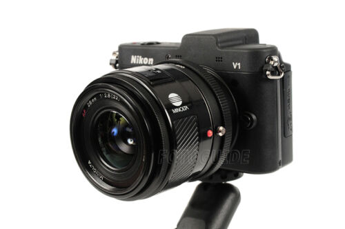 Objektivadapter passt zu Sony A Bajonett Objektive an Nikon 1 Anschluss Kameras