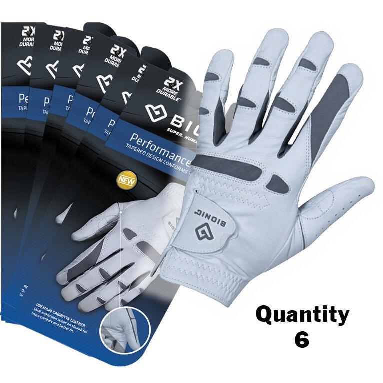 6 x Bionic Pour des hommes PerforhommeceGrip Pro - Left Hand - Premium cuir  29.95 ea