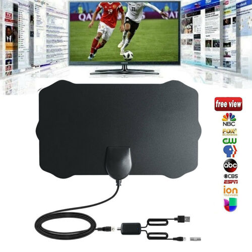 100 Mile Range Antenna TV Digital HD Skywire 4K Antena Digital Indoor HDTV 1080p