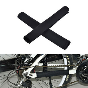 2X-Cycling-Bicycle-Bike-Frame-Chain-stay-Protector-Guard-Nylon-Pad-Cover-Wrap-gf