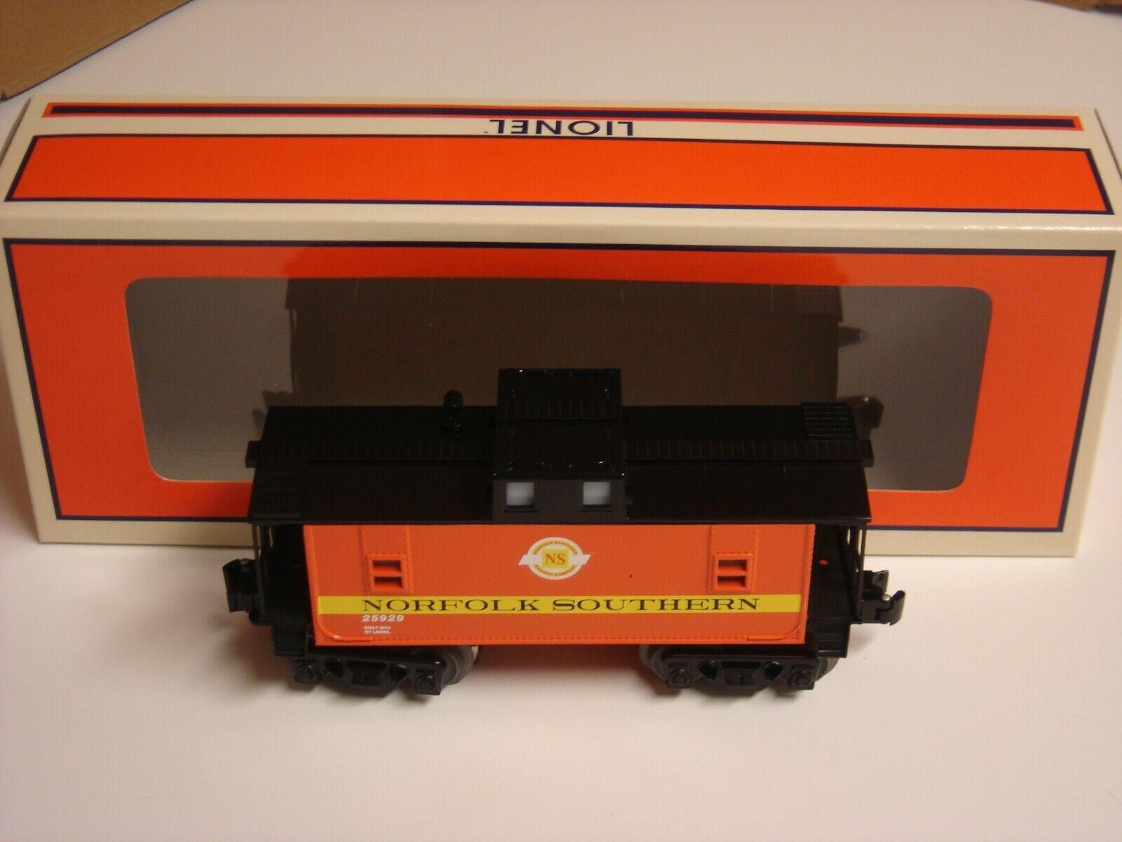 comprar nuevo barato Lionel Norfolk Southern Railway Railway Railway Company furgón de cola luz o calibre tren nuevo 6-25929  punto de venta