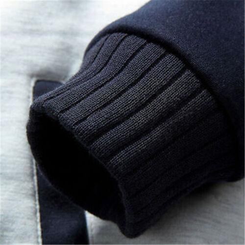 Minnesota Vikings Football Hoodie Zip up Jacket Coat Winter Warm Black and Gray
