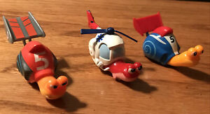 Lot Of 3 Dreamworks Turbo Movie 2013 Racing Snail Roller ...