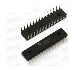 2PCS IC LED DRIVER PWM CONTROL 28-DIP TLC5940NT TLC5940 NEW GOOD QUALITY
