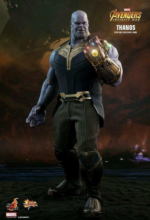 Hot Toys Avengers 3  Infinity War – Thanos 1 6 Scale Action Figure MMS479 AU NEW
