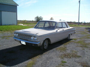 63 fairlane 2dr 500 for sale