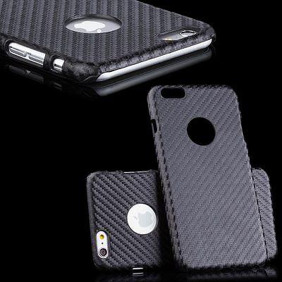 iCues® CARBON Cover +Display Schutzfolie +Poliertuch Hülle Schutzhülle Case Etui