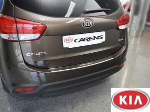 KIA-CARENS-IV-2012-Rear-Bumper-Profiled-Protector-Stainless-Steel-Cover