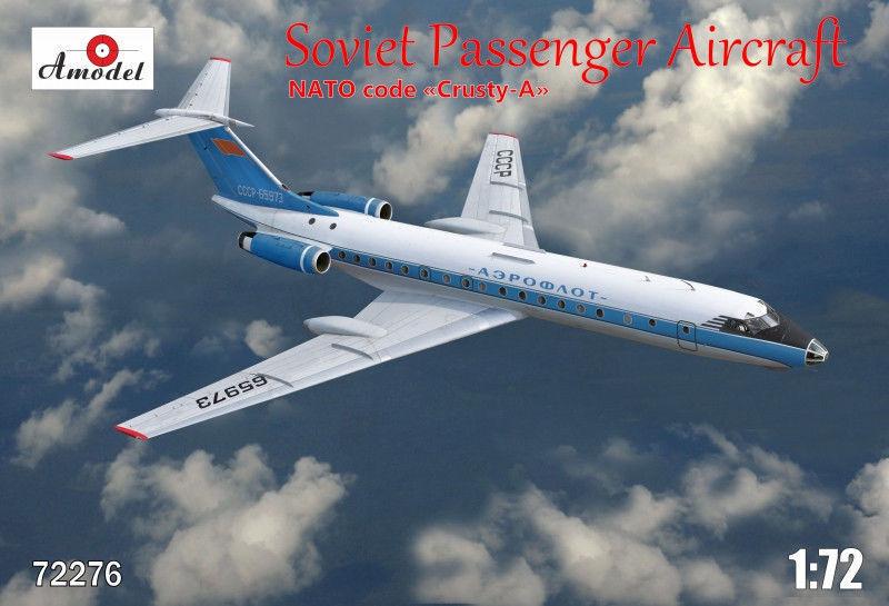1 72 Amodel Tu-134 Aeroflot 72276