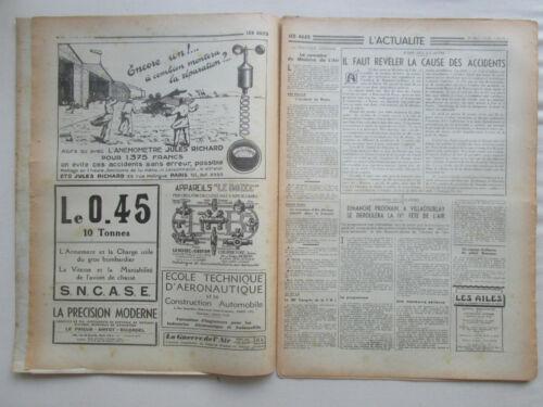 AILES 1938 890 BREGUET 690 MOTEUR BOEING 314 CURTISS P-37 ARMEE AIR DRUINE LITH