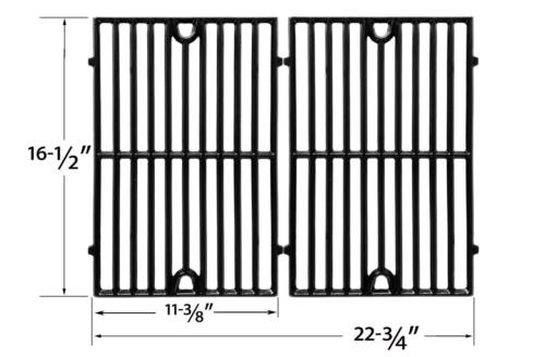 GC2000 Gloss Cast-Iron Cooking Grid For Grand Cafe GC1000 GC2001 GC3001,34402