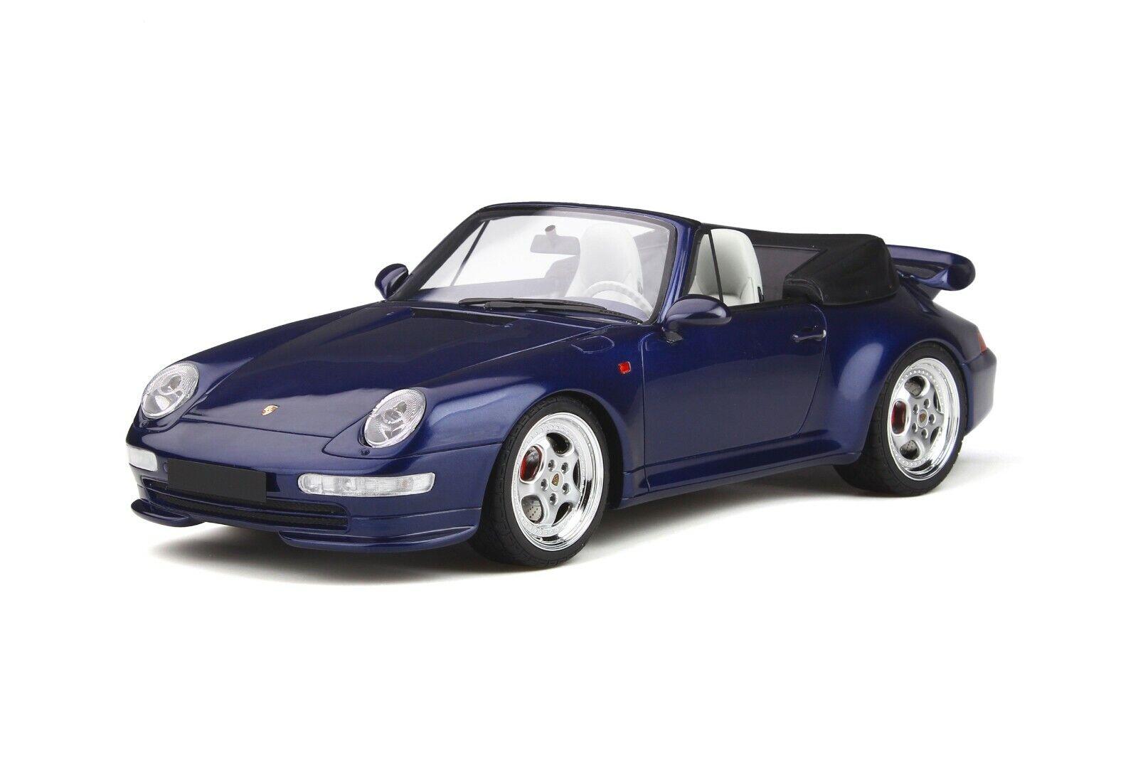 PRE ORDER PRE-COMhommeDE PORSCHE  911 993 TURBO CABRIOLET 1 18 GT Spirit OttO GT257  achats en ligne et magasin de mode