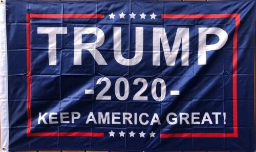 No More Bullshit 2/' x 3/' Trump Flag Small Boat Flag 2020 Keep America Great