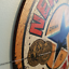 thumbnail 40 - Wood Bar Signs Vintage Retro Pub Man Cave Wall Sign Wooden Circle Plaques. UK