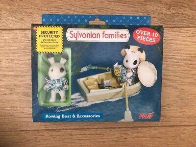 100% Vero Sylvanian Families Canottaggio Barca E Accessori 1985-flair-mostra Il Titolo Originale