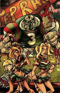 Zombies vs Cheerleaders comic books issue 1