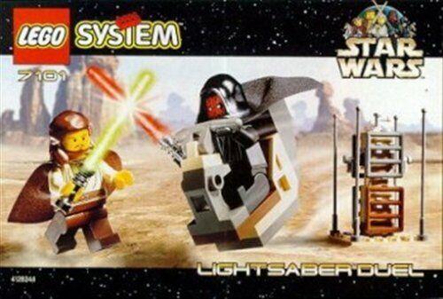 LEGO  LEGO estrella guerras estrella guerras  7101 la spada laser DUEL blocco Giocattoli
