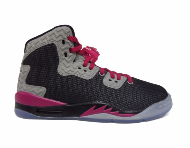 b794c4e402ae4 Jordan Air Spike Forty PE Youth Round Toe Synthetic Multi Color Basketball  Shoe 5.5