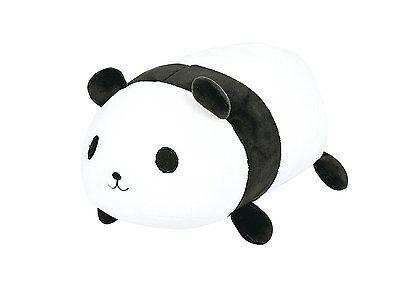 LivHeart Marshmallow Cocon Bolster Cushion Panda