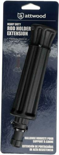 Attwood 5016-3 Fishing Rod Holder Extension Black
