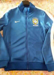 new style 90b55 01aa0 Image is loading Brazil-CBF-series-2014-Hoodie-Track-Suit-Top-