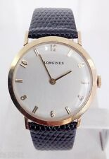 Solid 14k LONGINES Winding Watch c.1960s Cal 19.4* EXLNT Condition* TESTED