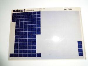 Yamaha-XV1000-bj-1986-MICROFILM-microfich-CATALOGO-DE-PIEZAS-PIEZA-DE-REPUESTO