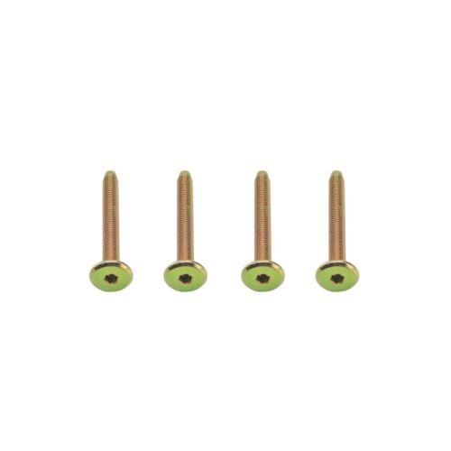 M6 6 mm 60 mm Long Meubles Connexion Boulons Hex Clé Allen Flathead-lits Cots