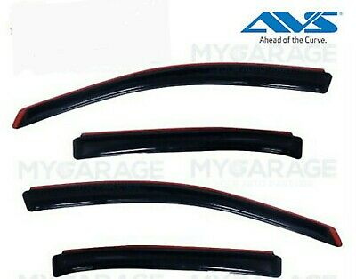 FORD TAURUS 2010-2019 WINDOW VENT VISORS Shades IN CHANNEL SMOKE 194194 For