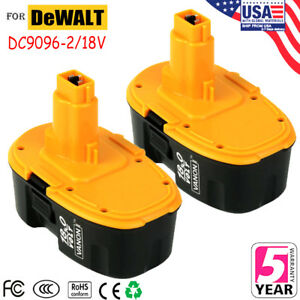 18V-DC9096-2-Ni-CD-For-DeWALT-DC9096-18-Volt-XRP-Battery-DW9098-DC9099-2pk-New